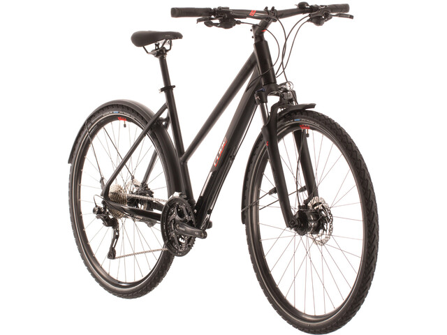 Cube Nature EXC Allroad Trapeze, black'n'red